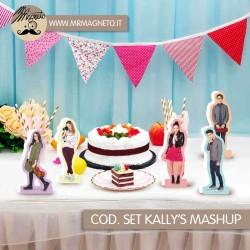 Set di bastoncini di legno di vari colori  decorativi dimensioni 15 cm confezione da 50pz