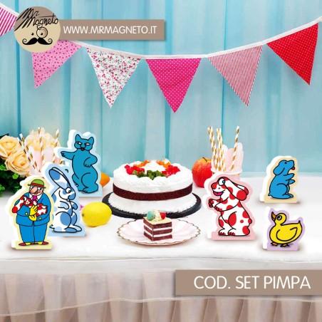 Tovagliolo Dinosauri   33x33 16pz