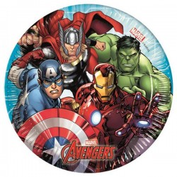 Avengers Mighty piatto di carta 20cm  8 pz