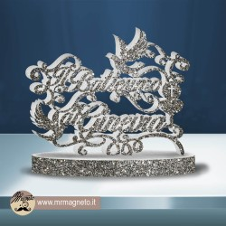 Striscione Tom e Jerry - carta cm 140x100 personalizzato