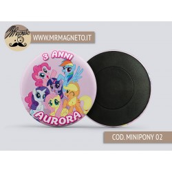Calamita My Little Pony 02 - Compleanno