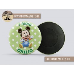 Calamita Baby Mickey 01 - Compleanno