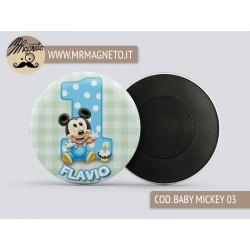 Calamita Baby Mickey 03 - Compleanno