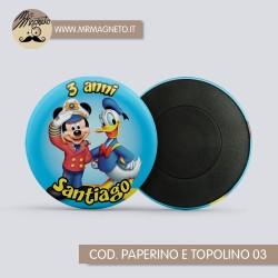 Calamita Baby Mickey 04 - Compleanno