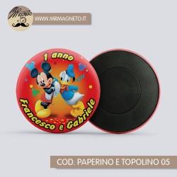 Calamita Baby Mickey 07 - Compleanno