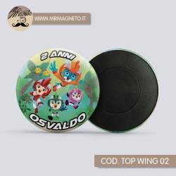 Lettere Alfabeto 3D - Barbie