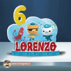 Cuscino Bianco/Nero - Juventus Cristiano Ronaldo personalizzabile