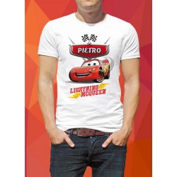 T-shirt CARS 01 - con nome da personalizzare