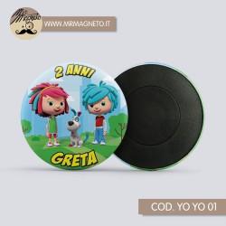 T-shirt SAM IL POMPIERE 02 - con nome da personalizzare