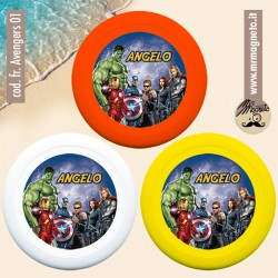 Frisbee - Avengers personalizzabile 01