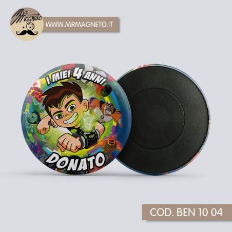 Striscione Il piccolo regno di Ben e Holly  01 - carta cm 140x100 personalizzato